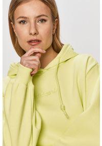 Żółta bluza adidas Originals casualowa, na co dzień