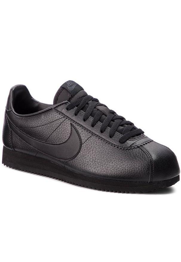 Czarne sneakersy Nike Nike Cortez