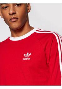 Adidas - adidas Longsleeve adicolor Classics 3-Stripes GN3489 Czerwony Slim Fit. Kolor: czerwony. Długość rękawa: długi rękaw