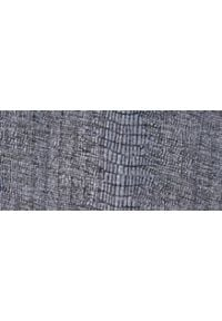 TOP SECRET - Błyszczący sweter damski. Kolor: szary. Materiał: materiał. Sezon: jesień, zima