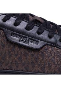 Brązowe sneakersy Michael Kors z cholewką