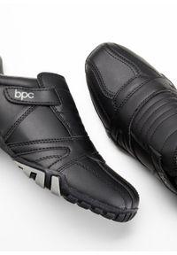 Czarne buty sportowe bonprix bez zapięcia #5