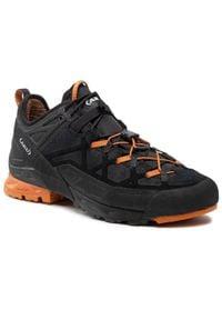 Aku - Trekkingi AKU - Rock Dfs GORE-TEX 722.1 Black/Orange 108. Kolor: czarny. Materiał: skóra, zamsz, materiał. Szerokość cholewki: normalna. Technologia: Gore-Tex. Sport: turystyka piesza