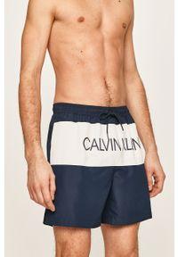 Niebieskie kąpielówki Calvin Klein Jeans