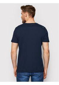 Musto T-Shirt Lr Ss Logo Tee 84008 Granatowy Regular Fit. Kolor: niebieski #2