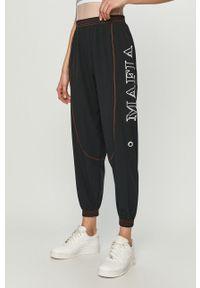 Czarne spodnie dresowe LABELLAMAFIA z nadrukiem