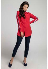 Czerwona koszula Nommo długa
