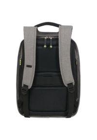Szary plecak na laptopa Samsonite