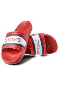 Czerwone klapki Cross Jeans