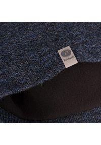 Zimowa czapka męska PaMaMi - Granatowa mulina. Kolor: niebieski. Materiał: akryl. Sezon: zima