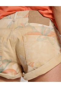 ONETEASPOON - Spodenki Tropical Bandits. Stan: obniżony. Kolor: beżowy. Materiał: jeans. Wzór: aplikacja #4