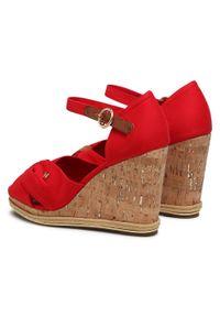 Czerwone sandały Wrangler