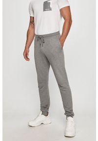 Szare spodnie dresowe Trussardi Jeans