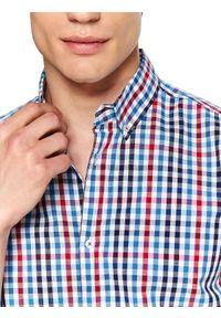 Wielokolorowa koszula TOP SECRET w kratkę, na jesień, krótka