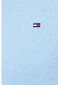 TOMMY HILFIGER - Tommy Hilfiger - Piżama. Kolor: niebieski. Materiał: bawełna, dzianina