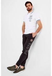 Koszulka polo Aeronautica Militare sportowa, polo, z nadrukiem