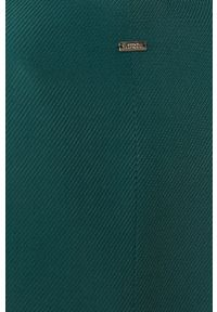 Armani Exchange - Marynarka. Kolor: zielony. Materiał: tkanina. Styl: klasyczny