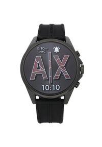 Czarny zegarek Armani Exchange smartwatch