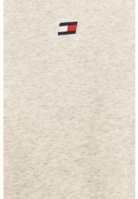 Biała bluza Tommy Sport na co dzień, bez kaptura, sportowa