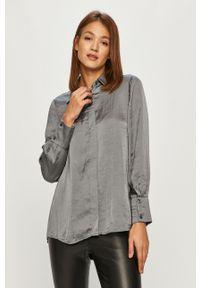 Szara koszula DKNY długa, klasyczna