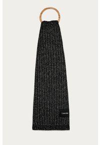 Czarny szalik Calvin Klein