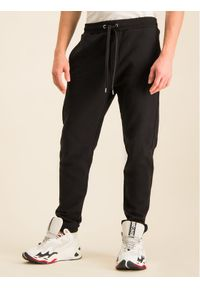 Czarne spodnie dresowe Just Cavalli