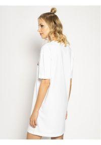 Biała sukienka Love Moschino prosta, na co dzień, casualowa