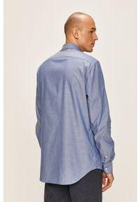 Niebieska koszula Tommy Hilfiger Tailored długa, casualowa, na co dzień