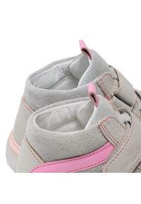 RenBut - Trzewiki RENBUT - 23-3225 Grey Pink/Popiel Jasny Róż. Kolor: szary. Materiał: skóra, zamsz. Szerokość cholewki: normalna