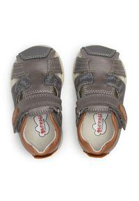 Szare sandały Garvalin