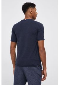 TOMMY HILFIGER - Tommy Hilfiger - T-shirt. Okazja: na co dzień. Kolor: niebieski. Materiał: dzianina. Wzór: nadruk. Styl: casual
