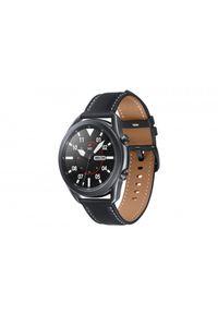 Czarny zegarek SAMSUNG smartwatch, militarny