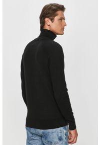 Czarny sweter Calvin Klein Jeans długi, z długim rękawem #4