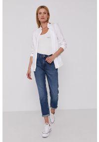Pepe Jeans - Jeansy Violet. Kolor: niebieski