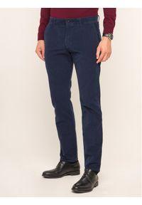 JOOP! Jeans - Joop! Jeans Spodnie materiałowe Matthew 30017310 Granatowy Straight Leg. Kolor: niebieski. Materiał: elastan, bawełna, materiał