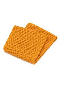 Pomarańczowy szalik PaMaMi na zimę