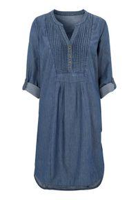 Niebieska sukienka Cellbes z dekoltem w serek