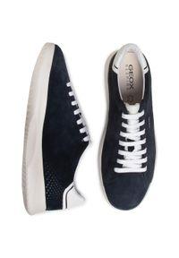 Geox - Sneakersy GEOX - U Kennet B U026FB 00022 C4064 Navy. Kolor: niebieski. Materiał: zamsz, materiał, skóra ekologiczna. Szerokość cholewki: normalna