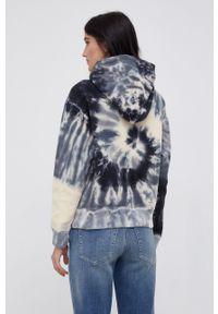 Polo Ralph Lauren - Bluza bawełniana. Typ kołnierza: polo. Materiał: bawełna. Długość rękawa: długi rękaw. Długość: długie. Wzór: aplikacja
