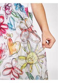Desigual Sukienka codzienna Laura 21SGVK08 Kolorowy Regular Fit. Okazja: na co dzień. Wzór: kolorowy. Typ sukienki: proste. Styl: casual