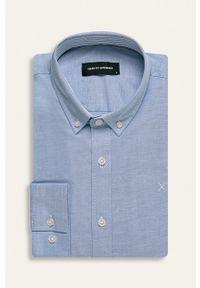 Clean Cut Copenhagen - Koszula. Typ kołnierza: button down. Kolor: niebieski
