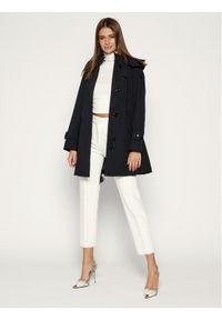Czarny płaszcz przejściowy Woolrich