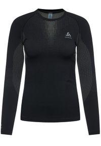 Czarna koszulka sportowa Odlo