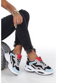 Wielokolorowe buty sportowe Casu z cholewką
