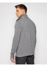 CMP Sweter 7H77042 Szary Regular Fit. Kolor: szary #3