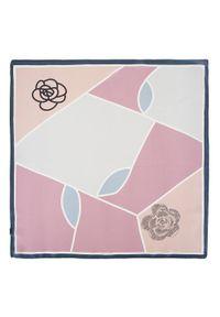 Różowy szalik Wittchen elegancki