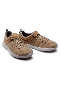 Brązowe buty trekkingowe keen trekkingowe, z cholewką