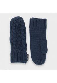 outhorn - Rękawiczki jednopalczaste uniseks. Materiał: dzianina, akryl. Wzór: ze splotem. Sezon: zima