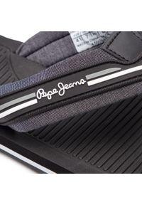 Czarne japonki Pepe Jeans