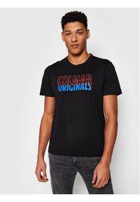 Colmar T-Shirt Frida 7589 6SH Czarny Regular Fit. Kolor: czarny